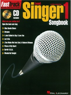 FastTrack: Lead Singer - Songbook 1 (Book/CD) Books and CDs | Voice