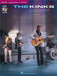 The Kinks: Guitar Signature Licks Books and CDs | Guitar Tab