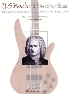 J.S. Bach For Electric Bass Books | Bass Guitar