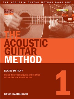 David Hamburger: The Acoustic Guitar Method - Book 1 (Book/Online Audio) Books and Digital Audio | Guitar (with Chord Boxes)