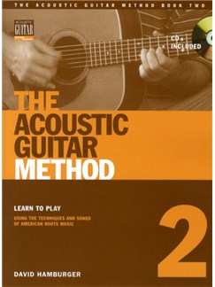 David Hamburger: The Acoustic Guitar Method - Book 2 Books and CDs | Guitar (with Chord Boxes)