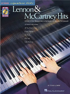 Keyboard Signature Licks: Lennon And McCartney Hits Books and CDs | Piano and vocal with guitar chord symbols
