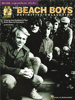 The Beach Boys Definitive Collection: Guitar Signature Licks Books and CDs | Guitar Tab