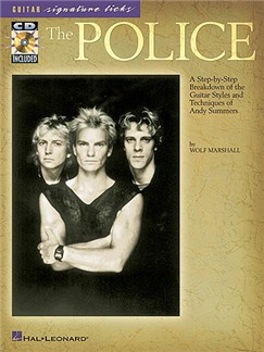 The Police: Guitar Signature Licks Books and CDs | Guitar Tab