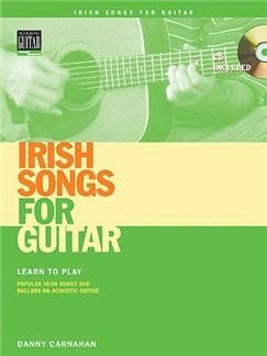 Danny Carnahan: Irish Songs For Guitar CD et Livre | Tablature Guitare