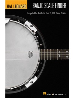 Hal Leonard Banjo Scale Finder (A5 Edition) Books | Banjo