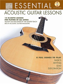 Essential Acoustic Guitar Lessons Books and CDs | Guitar Tab