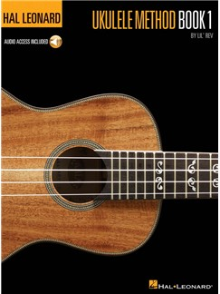 Hal Leonard Ukulele Method: Book 1 (CD Edition) Audio Digitale et Livre | Ukelele