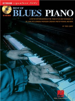Best Of Blues Piano: Keyboard Signature Licks Books and CDs | Piano, Keyboard