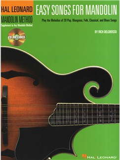 Easy Songs For Mandolin Books and CDs | Mandolin