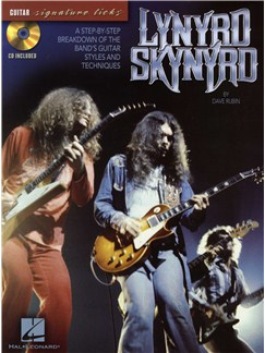 Lynyrd Skynyrd: Guitar Signature Licks Books and CDs | Guitar