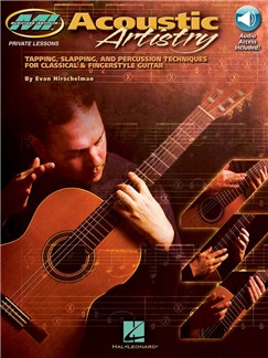 Evan Hirschelman: Acoustic Artistry (Book/Online Audio) Books and Digital Audio | Guitar