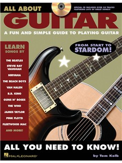 All About Guitar Bk/CD Books and CDs   Guitar