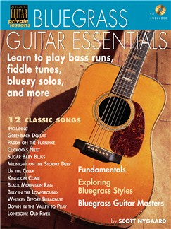 Bluegrass Guitar Essentials CD et Livre | Guitare