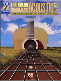 Fred Sokolow: Fretboard Roadmaps - Acoustic Guitar Books and CDs | Guitar