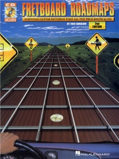 Fretboard Roadmaps: Essential Guitar Patterns That All The Pros Know And Use (2nd Edition) Books and CDs | Guitar