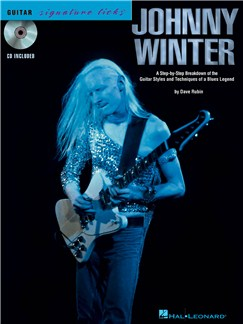 Guitar Signature Licks: Johnny Winter Books and CDs | Guitar Tab