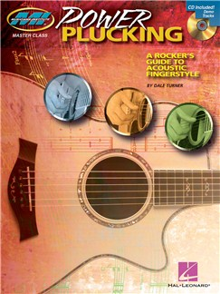 Power Plucking: A Rocker's Guide to Acoustic Fingerstyle Guitar (Book And CD) Books and CDs | Guitar