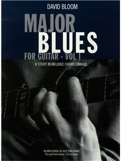 Major Blues For Guitar - Volume 1 Books and CDs | Guitar (with Chord Boxes)