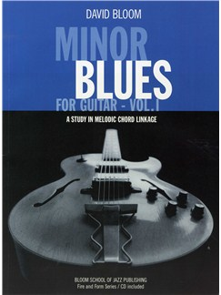 Minor Blues For Guitar - Volume 1 Books and CDs | Guitar (with Chord Boxes)