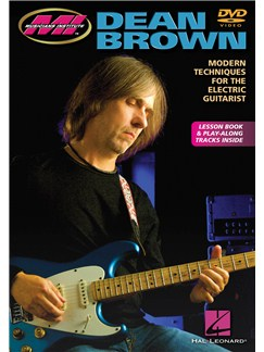 Dean Brown: Modern Techniques For The Electric Guitarist (DVD) DVDs / Videos | Electric Guitar