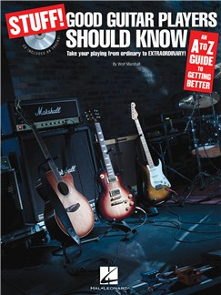 Stuff! Good Guitar Players Should Know: An A-Z Guide To Getting Better (Book And CD) Books and CDs | Guitar