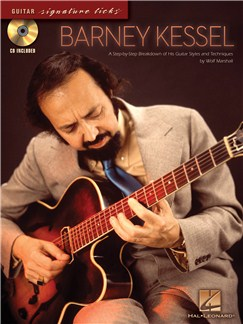 Barney Kessel - Signature Licks CD et Livre | Tablature Guitare