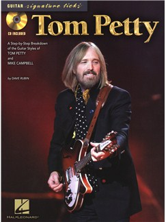 Guitar Signature Licks: Tom Petty Books and CDs | Guitar Tab