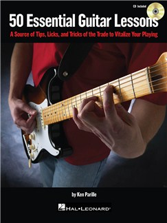 50 Essential Guitar Lessons (Book And CD) Books and CDs | Guitar