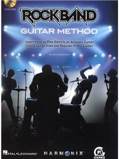 Rock Band: Guitar Method Books and CDs | Guitar