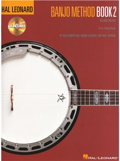 Hal Leonard Banjo Method - Book 2 (2nd Edition) Books and CDs | Banjo