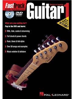 Fast Track Guitar 1 (DVD) DVDs / Videos | Guitar