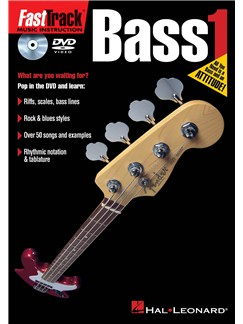 Fast Track Bass 1 (DVD) DVDs / Videos | Bass Guitar