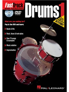 Fast Track Drums 1 (DVD) DVDs / Videos | Drums
