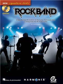 Rock Band: Guitar Signature Licks Books and CDs   Guitar Tab