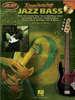Dominik Hauser: Beginning Jazz Bass Books and CDs | Bass Guitar Tab