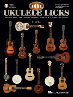 101 Ukulele Licks (Book/Online Audio) Books and Digital Audio | Ukulele