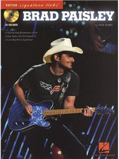 Signature Licks Guitar: Brad Paisley Books and CDs | Guitar