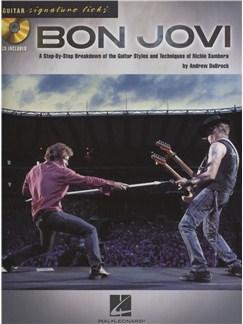 Signature Licks Guitar: Bon Jovi Books and CDs | Guitar Tab, Guitar