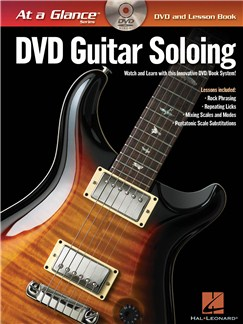 At A Glance - Guitar Soloing Books and DVDs / Videos | Guitar