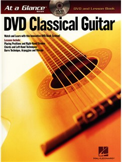 At A Glance - Classical Guitar Books and DVDs / Videos | Guitar, Guitar Tab
