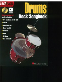 FastTrack Drums: Rock Songbook Books and CDs | Drums