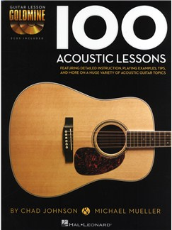 Chad Johnson/Michael Mueller: 100 Acoustic Lessons Books and CDs | Guitar, Guitar Tab