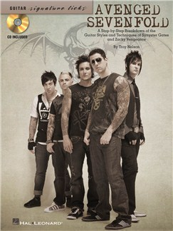 Signature Licks Guitar: Avenged Sevenfold Books and CDs | Guitar Tab, Guitar