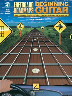 Fred Sokolow: Fretboard Roadmaps For The Beginning Guitarist (Book/Online Audio) Books and Digital Audio | Guitar