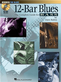Dave Rubin: 12-Bar Blues - The Complete Guide For Bass Books and CDs | Bass Guitar Tab, Bass Guitar