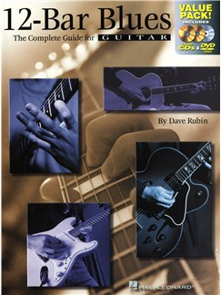 Dave Rubin: 12-Bar Blues - The Complete Guide For Guitar (Book/2CD/DVD) Books, CDs and DVDs / Videos | Guitar Tab, Guitar