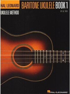 Hal Leonard Baritone Ukulele Method – Book 1 (Book Only) Books | Ukulele