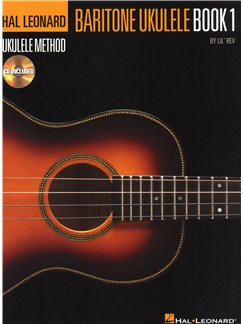 Hal Leonard Baritone Ukulele Method - Book 1 Books and CDs | Ukulele