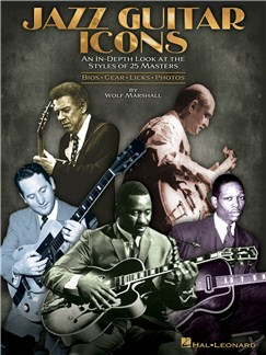 Wolf Marshall: Jazz Guitar Icons Books | Guitar, Guitar Tab